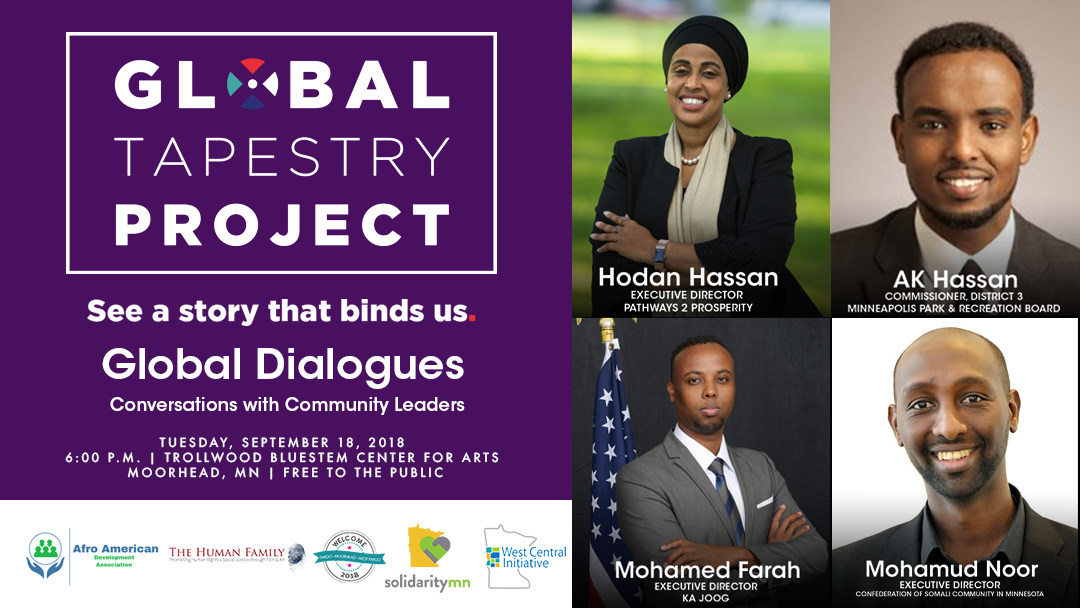 New American Leaders from Minneapolis to Join Fargo-Moorhead's Welcome Week at Global Tapestry Dialogues Conversation