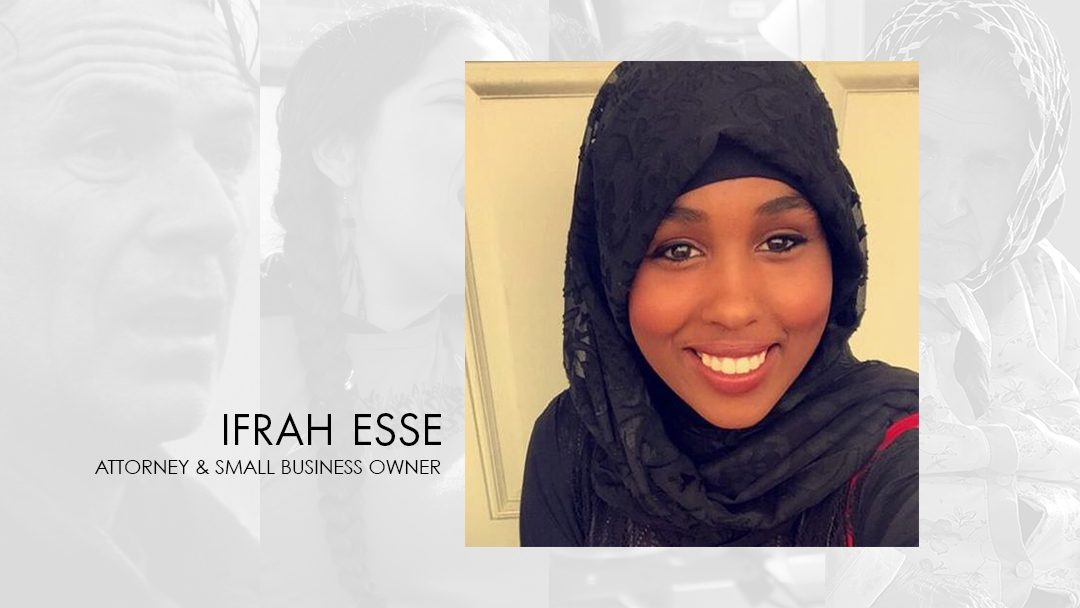 Ifrah Esse to Moderate Immigrant and Refugee Experience Panel Discussion