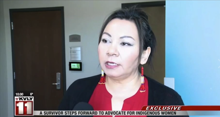 A survivor steps forward to advocate for indigenous women