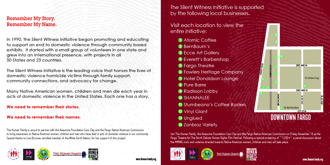 Silent Witness Initiative opens as part of Human Rights Film