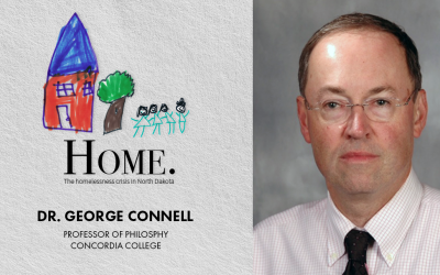 Dr. George Connell joins Discussion on Homelessness