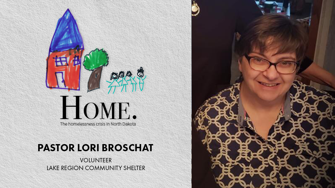 Pastor Lori Broschat joins Discussion on Homelessness