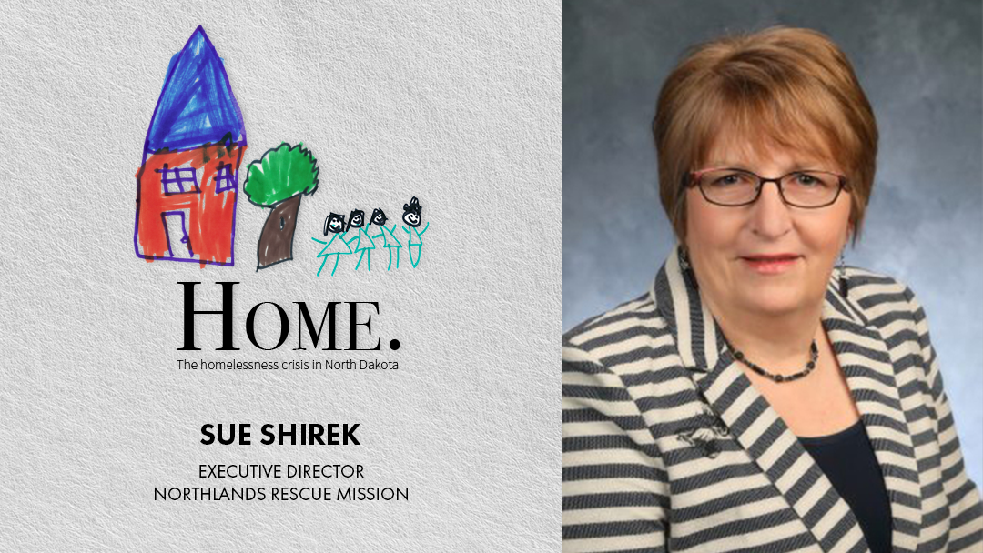 Sue Shirek joins Discussion on Homelessness