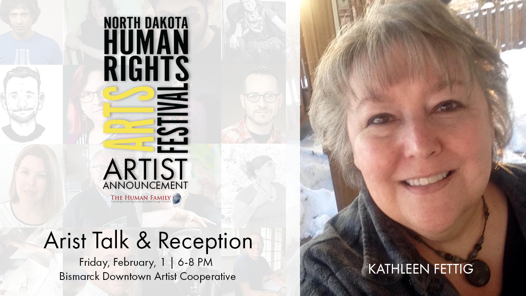 Kathleen Fettig to speak at Artist Talk