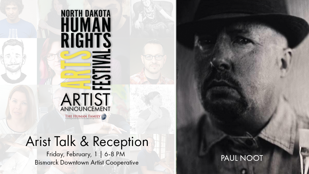 Paul Noot to speak at Artist Talk