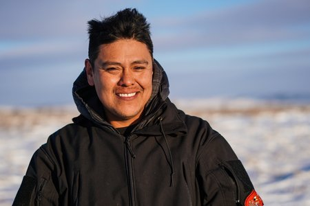 Artist and Water Protector Brennon Nastacio Commissioned to create Awards for Human Rights Arts Festival