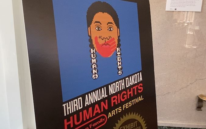 Human Rights Arts Exhibit on display at Taube Art Museum in Minot
