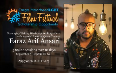 FMLGBTFF scholarship opportunity for Screenwriting Workshop